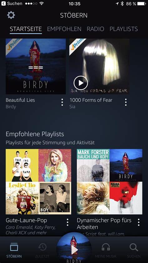 amazon music app amazon music app mit neuem interface jetzt auch auf fire