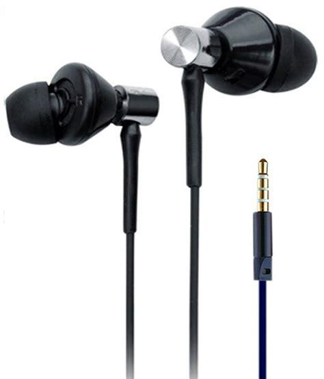 wired in ear earphones black ubon ubk3 in ear wired earphones with mic black buy ubon