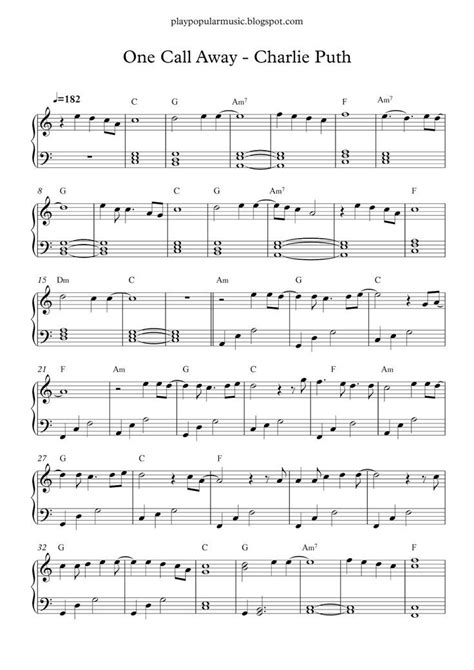 Piano Sheet For Beginners Popular Songs Free Printable free printable piano sheet for popular songs