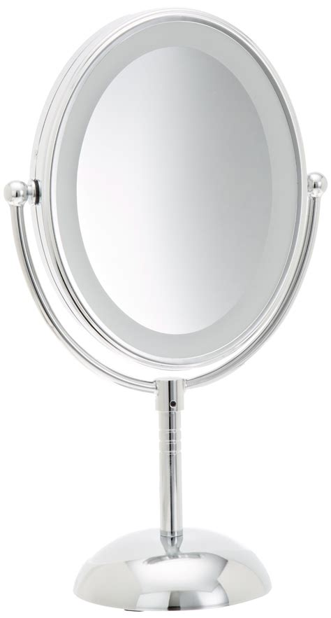 conair led lighted mirror conair led makeup mirror reflections lighted battery 7x
