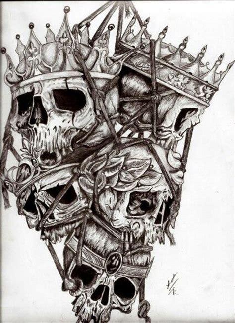 calaveras de reyes caidos dise 241 os de tatuaje tattoo