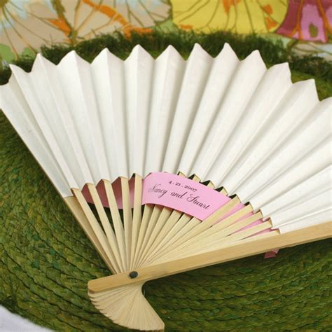 paper fans for wedding white paper fans