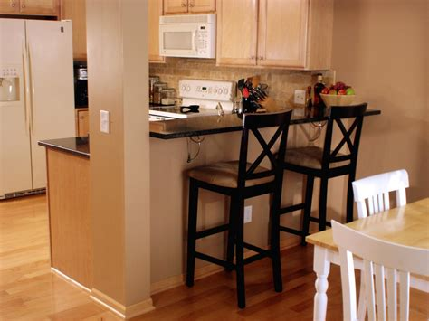 kitchen snack bar ideas how to create a raised bar in your kitchen how tos diy