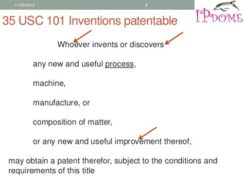 patent section 101 european and us patent law
