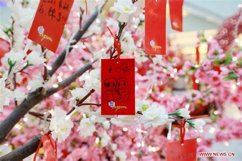 new year wishing tree lunar new year wishes 6 chinadaily cn
