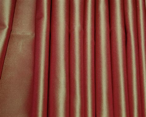 red satin curtains red silk taffeta drapes curtains shades custom made