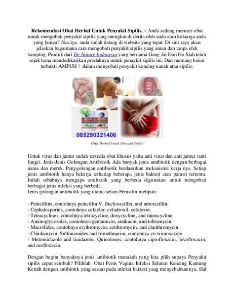 Obat Herbal Untuk Sipilis rekomendasi obat herbal untuk penyakit sipilis