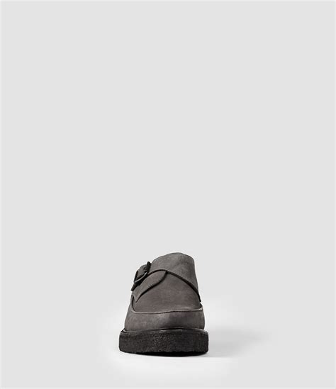 allsaints phase shoe in gray for lyst