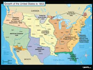 maps101 growth of the united states to 1853