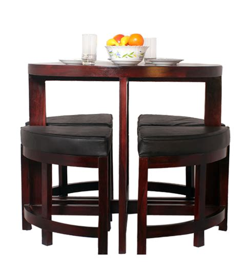 Space Saver Dining Room Sets Black Forest Contemporary Space Saving Dining Set By Mudra Dining Sets Furniture