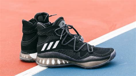 adidas crazy explosive close up look at the adidas crazy explosive primeknit