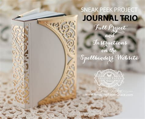 Journal Giveaway - journal trio giveaway 187 amazing paper grace