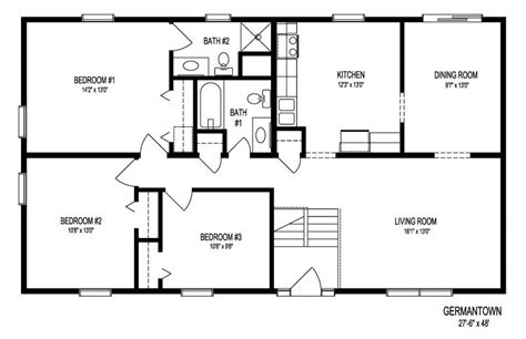 split entry house floor plans split foyer house plans smalltowndjs com