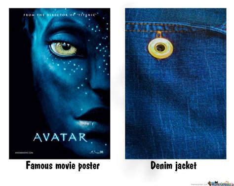 Poster Meme - famous movie poster vs denim jacket by serkan meme center