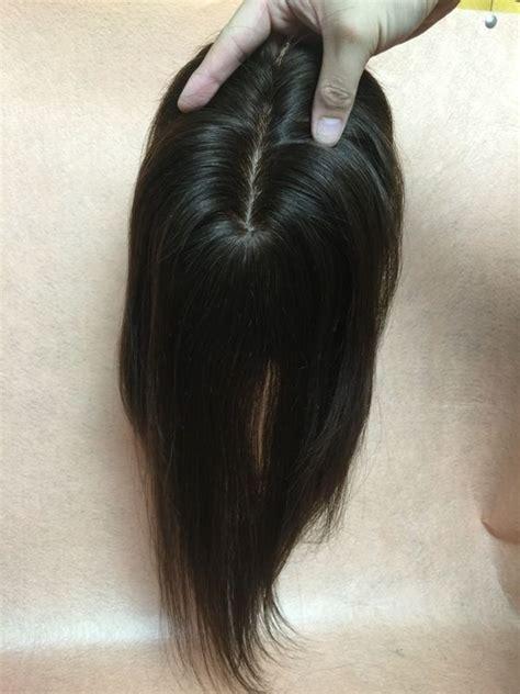 hair toppers that look realistic realistic silk top 100 human hair thin hair topper top