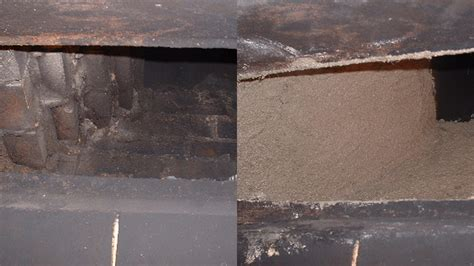 Fireplace Smoke by Chimney Smoke Chamber Parging Chimney Sweeping Services Repairs Syracuse Ny Mr Chimney