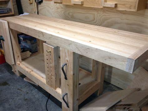 roubo bench plans roubo workbench for a friend by eric lumberjocks com