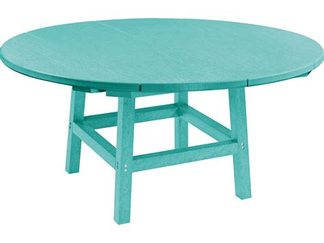 plastic bench tops c r plastic generation 40 round table top with 17