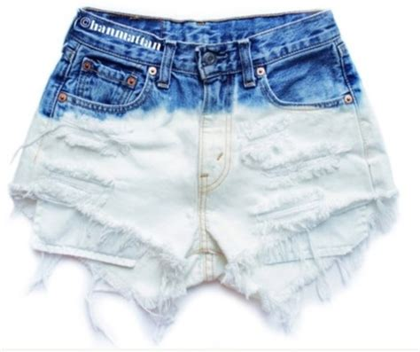 shorts high waisted shorts tie dye fashion clothes
