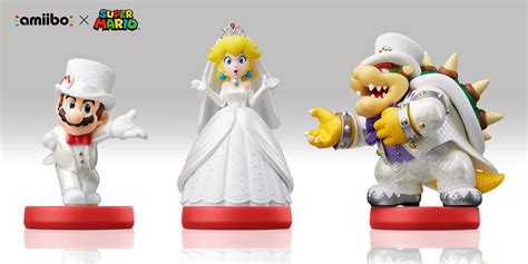 Amiibo Bowser Mario Odyssey Series mario odyssey amiibo will unlock wedding ninmobilenews