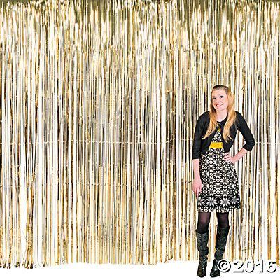 gold streamer curtain large gold fringe curtain decoration the great gatsby