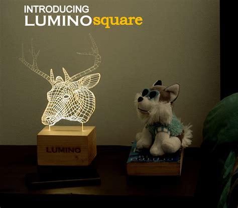 Lu 3d Led Transparan Design Deer illuminating illusions the plus paper