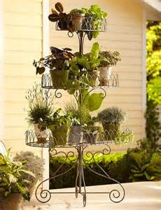 Decorative Mailboxes Iron Scroll 3 Tier Plant Stand Eclectic Plant Stands