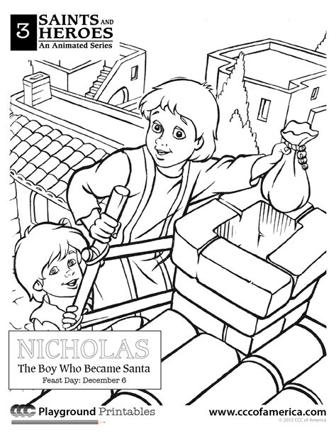 St Nicholas Coloring Pages Free Large Images St Nicholas Coloring Page