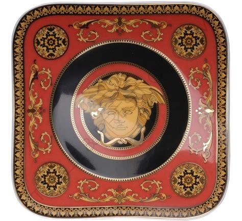 Versace Logo Plate Shopper by 6 X Versace Medusa Plate 14 Cm Versace Medusa Rosenthal