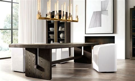 restoration hardware table l introducing the pacamara dining table collection i