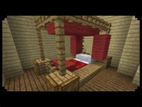 minecraft bed designs minecraft how to make a poster bed youtube
