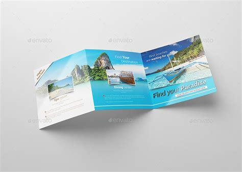 design a leaflet to encourage tourist to visit egypt square travel holiday brochure by kahuna design
