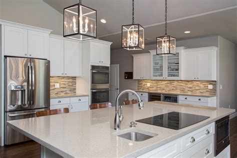 White Backsplash Kitchen by Design Build Kitchen Remodeling Pictures Arizona Remodel