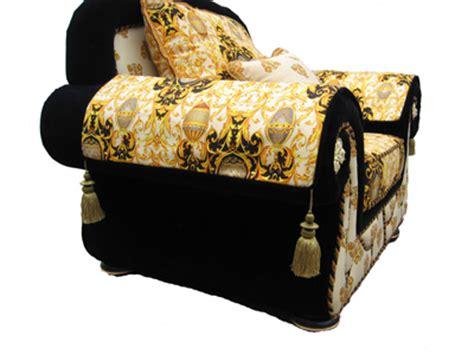 versace design beige gold sofa set ebay