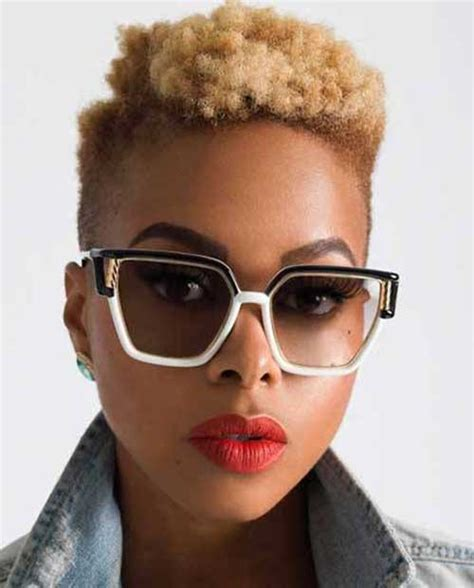 really short haircuts with black on bottom blonde on top spectecular short hair ideas for black women short