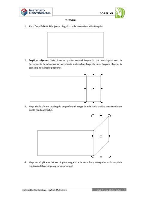 tutorial corel draw basico tutorial pecera