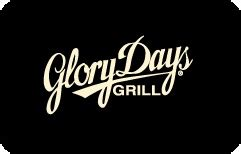 Glory Days Gift Card - buy glory days grill gift cards at a discount giftcardplace