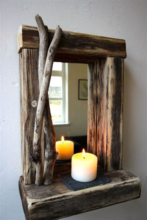 rustic rectangular wall mirrors best decor things