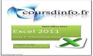 des cours de cours excel 2011 pour mac 224 t 233 l 233 charger