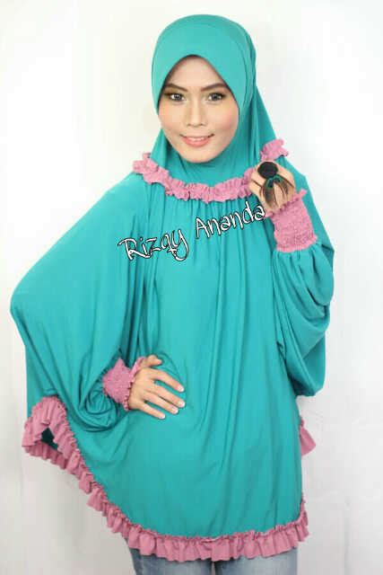 Jilbab Instan Ainun jual bergo tangan ainun adelia by rizqy ananda ori toko jilbab branded instan