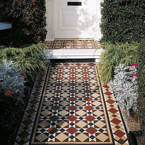 porch tiles designs for houses restoring victorian porch tiles celia rufey s garden ideas and advice housetohome