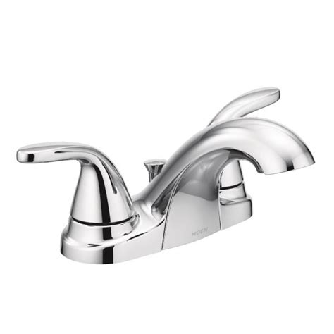 Moen Adler Bathroom Faucet Parts Adler Chrome Two Handle Bathroom Faucet 84603 Moen
