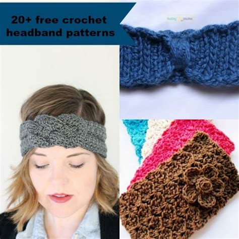 free pattern for headbands 20 free and easy crochet headband patterns
