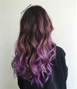 colorful ombre 20 purple ombre hair color ideas popular haircuts
