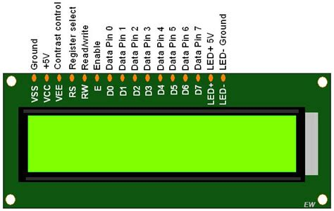 16x2 lcd pin diagram interfacing lcd 16x2 in 4 bit mode with pic18f4550