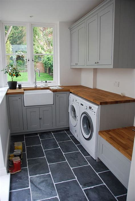 beautiful design ideas laundry room in kitchen for hall 55 beautiful laundry room tile design ideas www