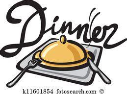 clipart cena dinner clipart vector graphics 101 690 dinner eps clip