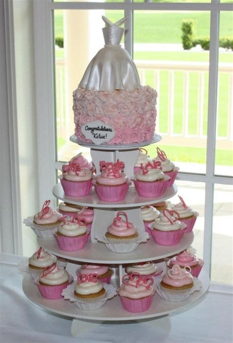 bridal shower cake and cupcake ideas 24 best bridal shower ideas images on