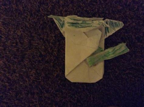 Origami Cover Yoda - cover yoda origami yoda