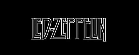 led zeppelin band logo band logos 45 forceful pop and rock logos